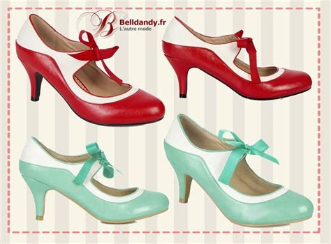 Chausures Annees 50 Chaussures Femme Annee 50