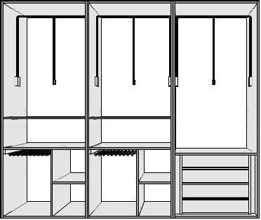 modulos para armarios empotrados great venta e instalacin