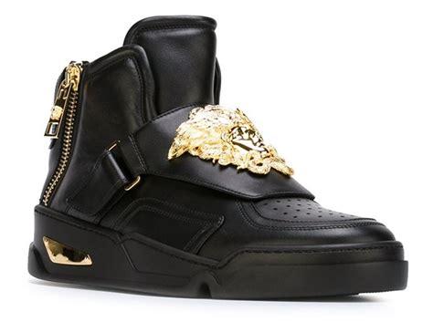 versace sneakers mens versace s shoes gold medusa sneakers