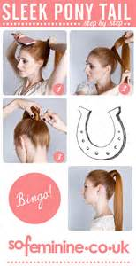 step by step guide to a beauitful hairstyle how to do a sleek ponytail step by step guide sofeminine