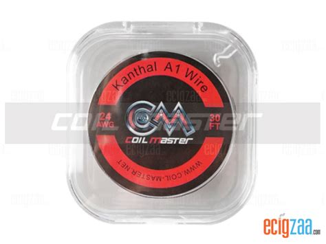 Original Kanthal A1 Wire By Vaportech 26g 30ft Vapor Tech Khantal ecigzaa อ ปกรณ บ หร ไฟฟ า coil master kanthal a1 wire