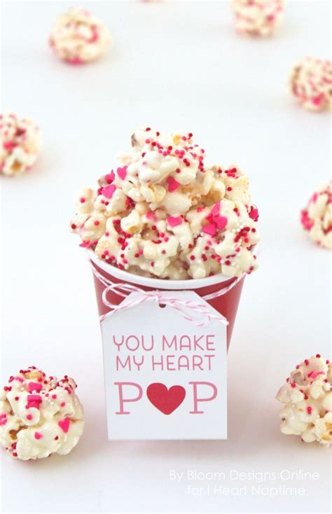printable valentine recipes you make my heart pop recipe and printable heart sweet