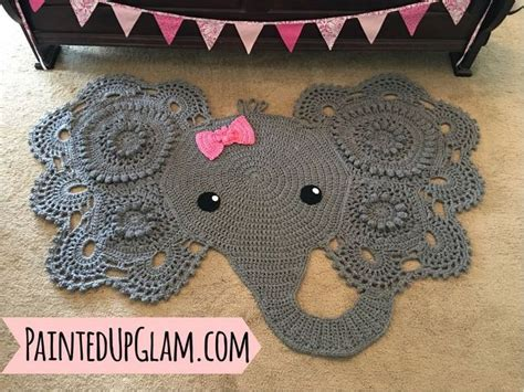 Elephant Rug by Popular Elephant Rug Crochet Diy Hometalk