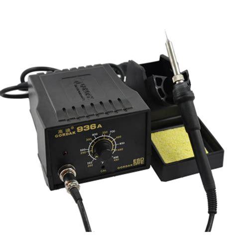 Tools Solder Station 936a Original high quality gordak 936a smd rework station wellering irons soldering 936a station soldering