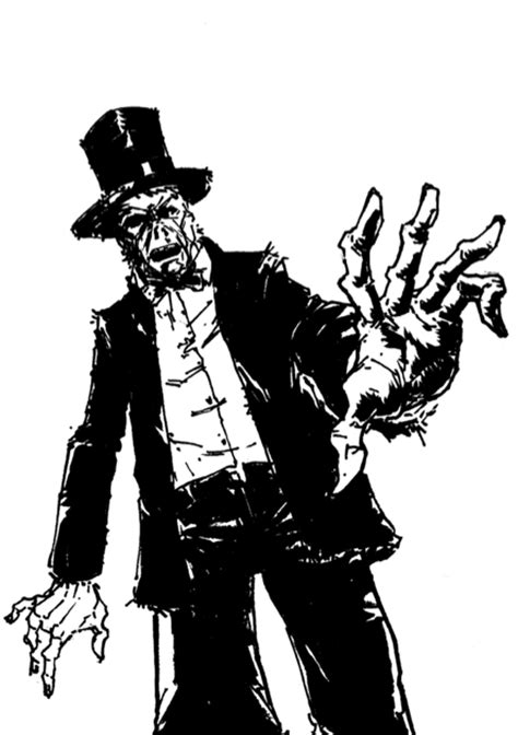 black and white zombie pattern top hat zombie black and white by hyprvirus on deviantart