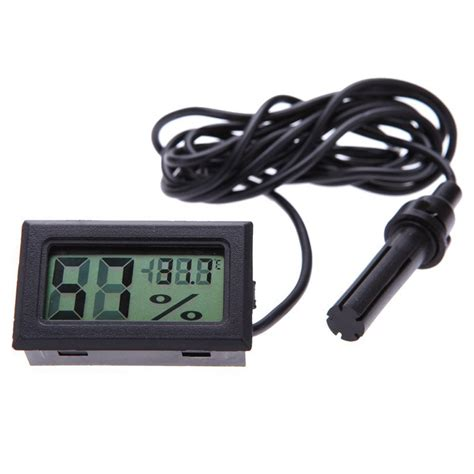 Newmini Lcd Digital Thermometer Hygrometer new mini lcd digital thermometer moisture meter hygrometer meter temperature monitor in