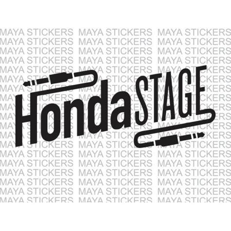 Honda Sticker India by Honda Stage Logo Sticker For Honda Bikes And Cars