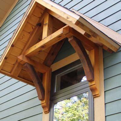 Porch Blueprints exterior cedar wood products brackets gables braces