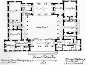 house plans with courtyard ranch style