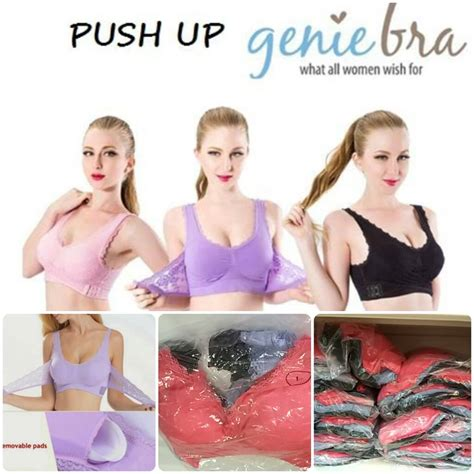 Sport Bra Genie Bra Renda Premium mybody shop wholesaler and retailer new push up
