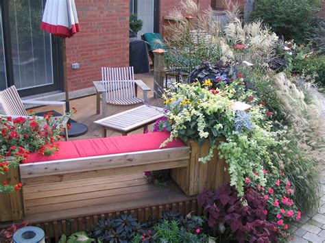 deck gardening containers rinda west designs containers and deck gardens