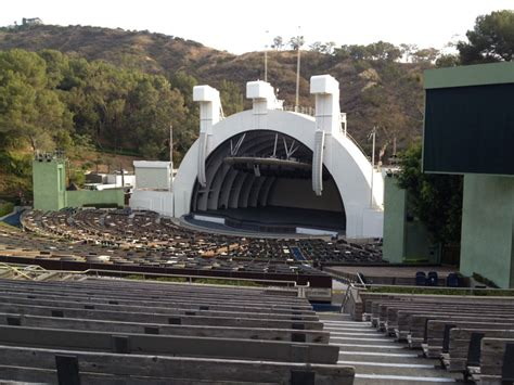 Section E And The Obstructed View Hollywood Bowl