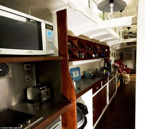 Sleeper To Cornwall by Inside The Ebay That S Been Converted Into Luxury