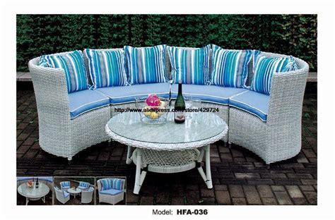 white wicker sofa table modern half sectional rattan sofa set coffee table