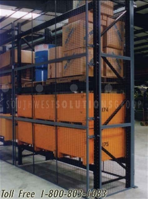 az rack pallet rack guards phoenix wire mesh security panels