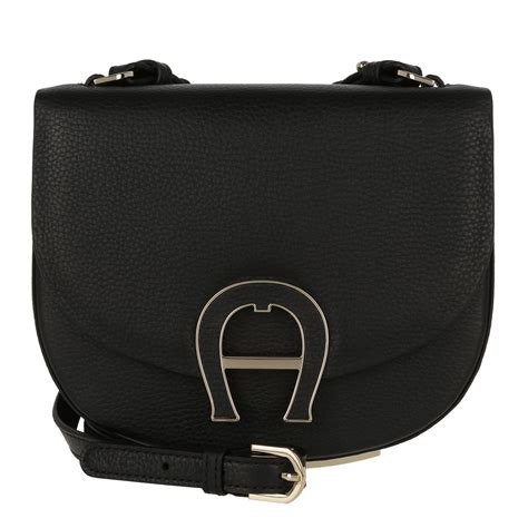 Aigner A Leather aigner premium aigner pina mini leather crossbody bag xs