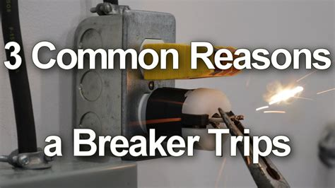 circuit breaker keeps tripping 3 common reasons