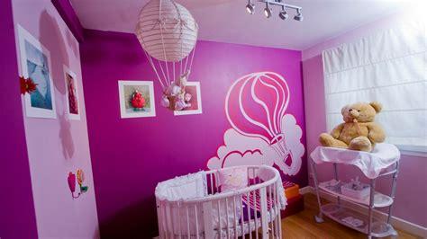 decorar la habitacion bebe color morado o lila para dormitorios