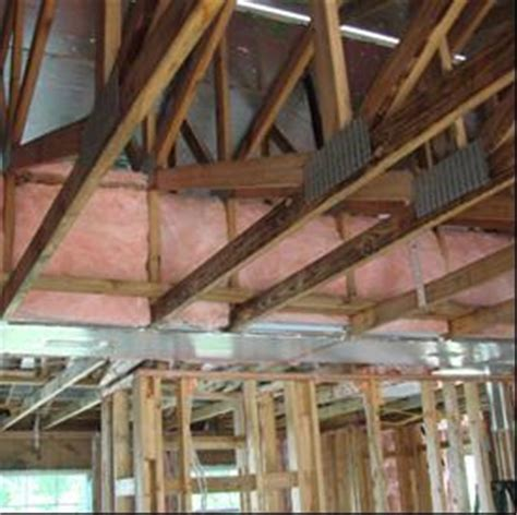 Raised Ceiling Types Ducts In Raised Ceiling Sections Building America