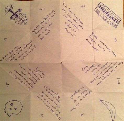 what to write in a paper chatterbox stevenson vs our cootie catcher audiofemme
