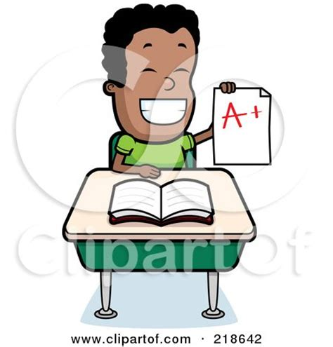 student sitting at desk clipart boy working at desk clipart 54