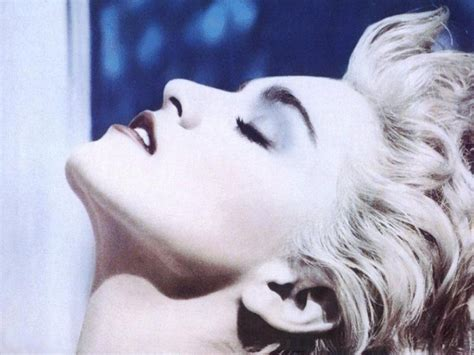 True Blue covercentric paper bag records pays tribute to madonna s