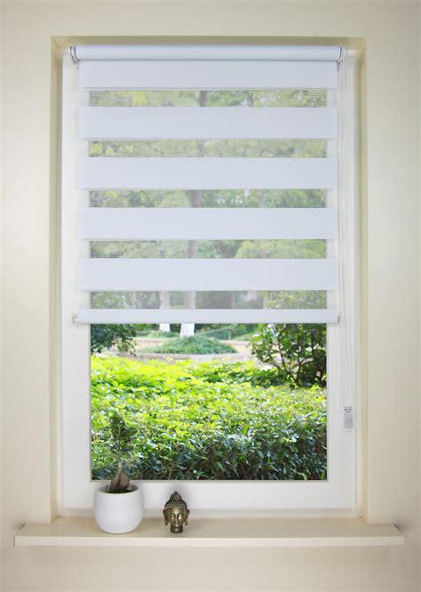 double window treatments 2017 european style double roller blind zebra shade home