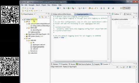 tutorial java plugin logging google appengine java tutorial eclipse version 3