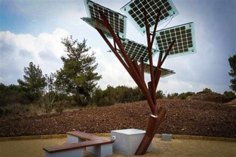 solar power tree csir lab develops solar tree that can light 5 houses