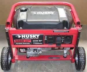 Husky Generator 5000 Watt Subaru Engine Husky 1850w Generator On Popscreen
