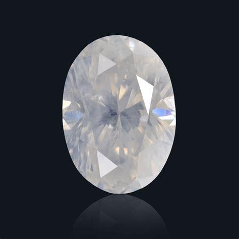 white diamonds 0 82 carat fancy white oval shape i1 clarity