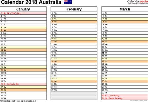 2014 calendar australia template australia calendar 2018 free printable excel templates