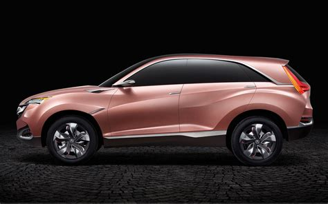 acura jeep 2013 2013 shanghai honda acura debut m suv x concepts