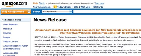 amazon news some milestones from the last 15 years of web api history