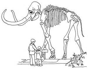 fossil print dinosaur coloring pages