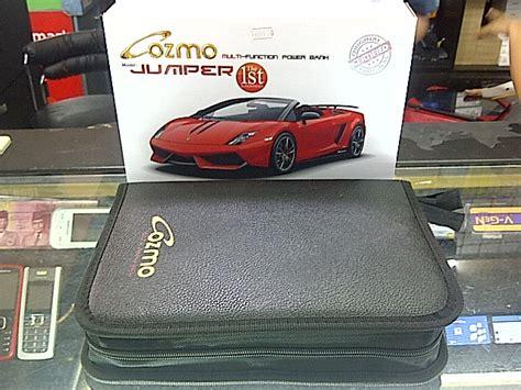 Power Bank Untuk Aki Mobil jual powerbank cozmo jumper 20 000mah bisa untuk charge hape jumper aki mobil laptop dll