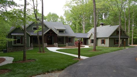 craftsman style one story homes