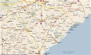 carolina in us map south carolina map