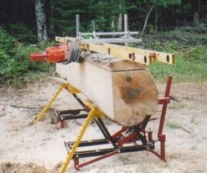 Homemade On Location Chainsaw Mill Homemadetools Net