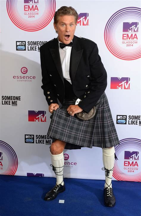 David Hasselhoff Pulls Out Of The Mtv Awards by Mtv Emas 2014 David Hasselhoff Shows A Cheeky Flash