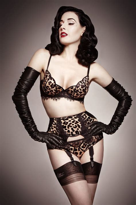 dita von teese dishes on her new lingerie collection and