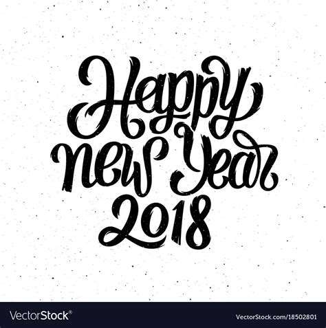 seasons greetings and new year 2018 e cards happy new year 2018 card season greetings vector image