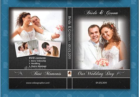 format jaquette dvd photoshop wedding cd dvd cover free psd brochure template