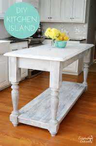 diy kitchen island ideas 10 do it yourself decorating ideas home stories a to z