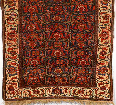 Mission Area Rugs Lot 245 Mission Malayer Area Rug Early 20th C