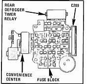 Need Diagram Of Fuse Box Placement On 1989 Chevy Caprice