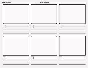Interactive Storyboard Template by Storyboard Template Stop Motion Etc Shorts