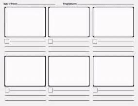 storyboard template science pinterest storyboard