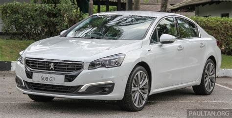 peugeot car price in malaysia peugeot 508 facelift final prices out rm174k rm202k