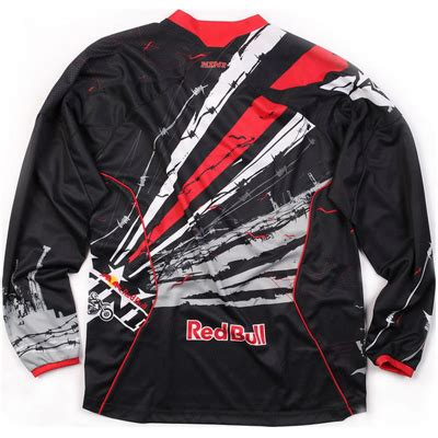 stephgoulet kini red bull mx jersey motocross barbwire shirt